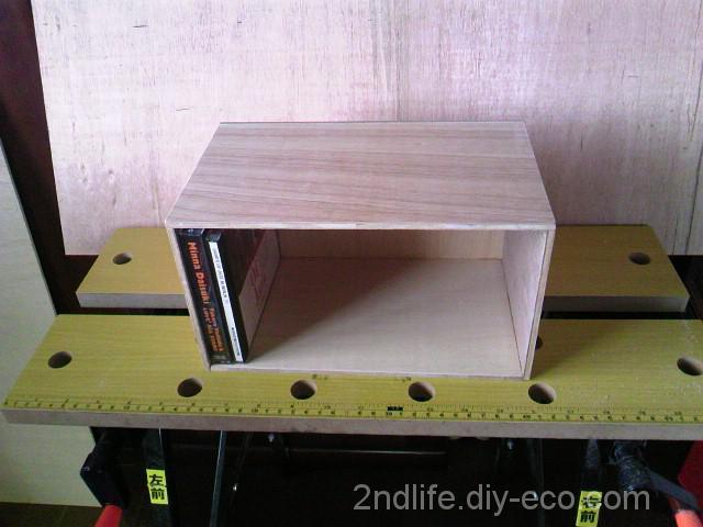 CD・DVD収納ボックスをDIYで製作