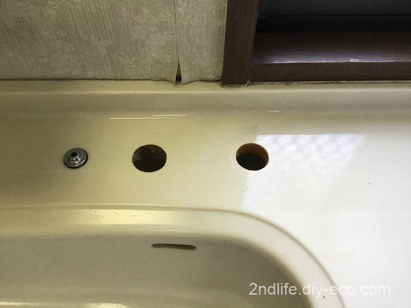 洗面台の蛇口の交換DIY