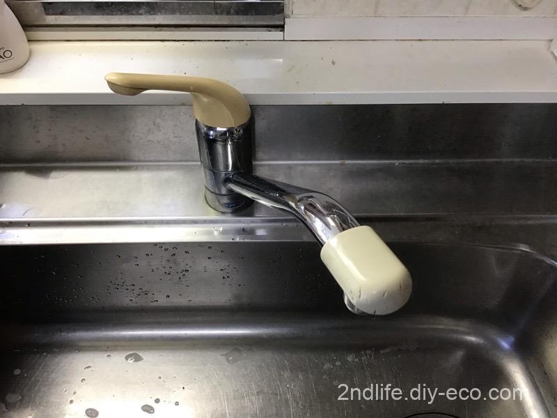 キッチン混合水栓の交換