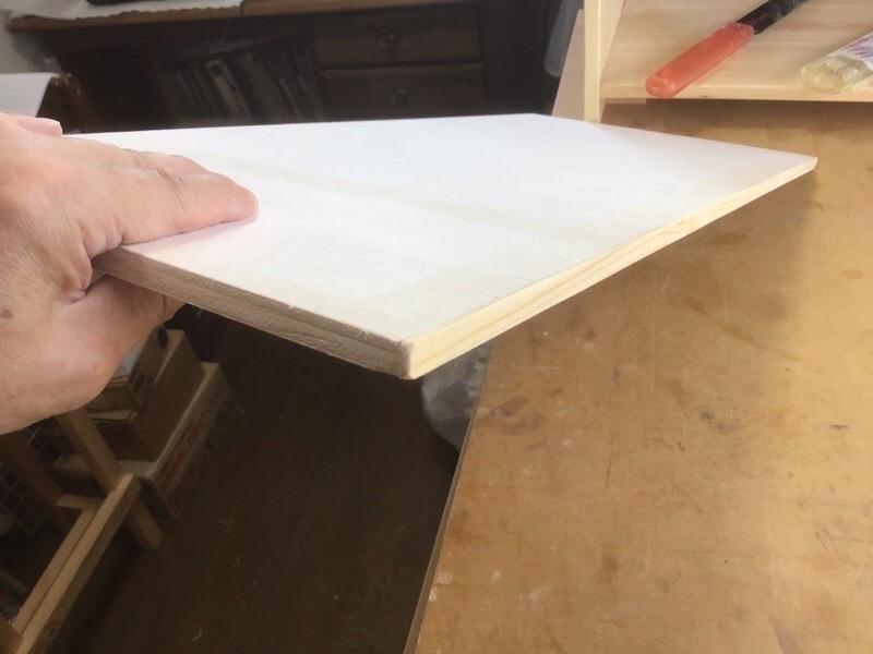 合板の小口処理